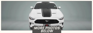 Ford Mustang Center Stripes (Super Snake, for 2018-2021) - Stripe Source