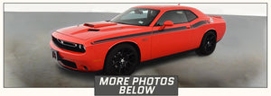 Dodge Challenger Side Stripes RT Style (R/T, 2015-2020) - Stripe Source