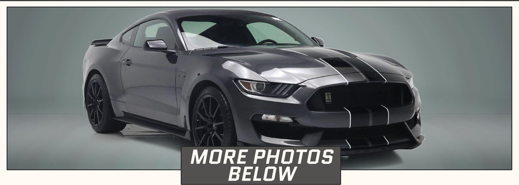 GT350 Racing Stripes with Pinstripes (Rally/Dual/Lemans) - Stripe Source
