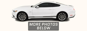 Ford Mustang Side Stripes with MUSTANG GT Text (2015-2021) - Stripe Source