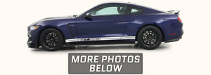 Shelby GT350 Side Stripes with GT350 Text (2015-2020)