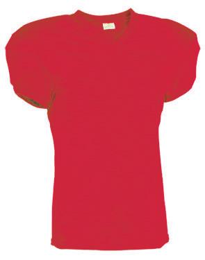 Touchdown Steelmesh Football Jersey Scarlet