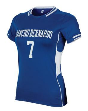 Maillot Lacrosse Challenger Mujer Royal / Blanco