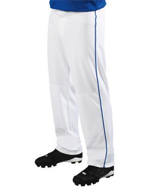 Big Show 12 oz. Pantalones de softball holgados con ribete blanco / real