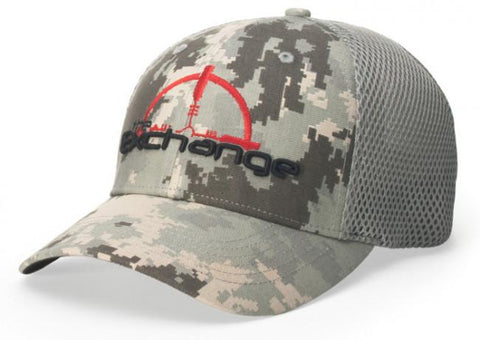 Gorra Flexfit de camuflaje digital estilo 855 Air Mesh R-Flex