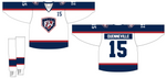 Fitwell Sublimated Jersey de hockey reversible de dos capas