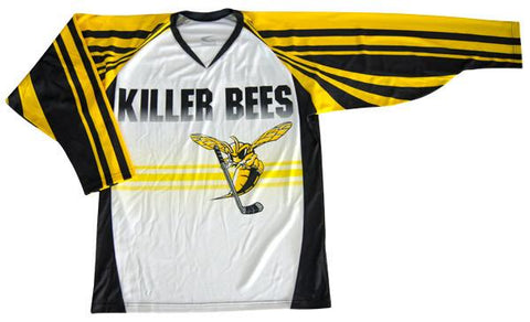 Bruiser Custom Sublimated Hockey Jersey Vista frontal