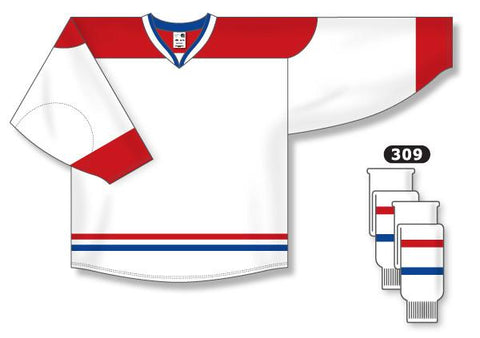 Maillot blanco AK Pro Series Montreal 2007