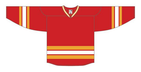 Maillot alternativo rojo AK Pro Series Calgary 2009