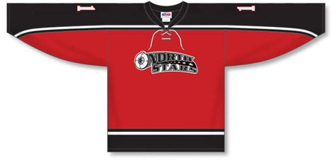 AK Custom Made Hockey Jersey Design 065
