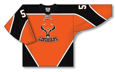 AK Custom Made Hockey Jersey Design 913