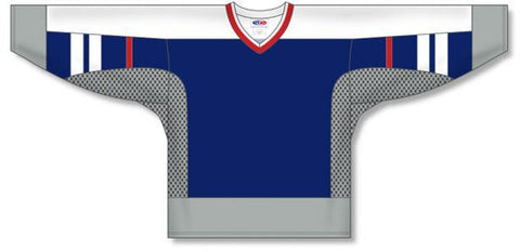 AK Custom Made Hockey Jersey Design 580
