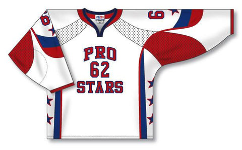 AK Custom Made Hockey Jersey Design 832