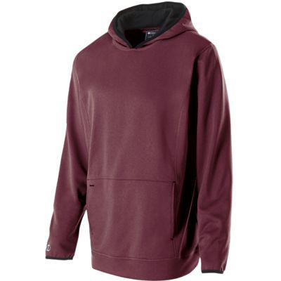 Artillery Performance Fleece Hoodie Maroon