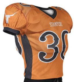 Brawler Custom Sublimated Raglan Football Jersey