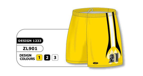 ZFHS901-1233 Short de hockey sublimado personalizado