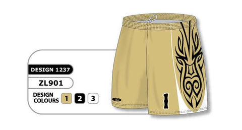ZFHS901-1237 Short de hockey sublimado personalizado
