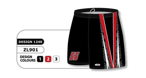 ZFHS901-1240 Short de hockey sublimado personalizado
