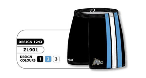 ZFHS901-1243 Short de hockey sublimado personalizado