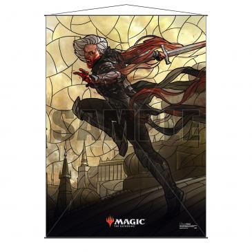 Stained Glass Planeswalkers Wall Scroll : Sorin | Spankys Card Shop