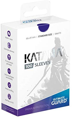 Blue Katana Sleeves Standard Size (100) | Spankys Card Shop