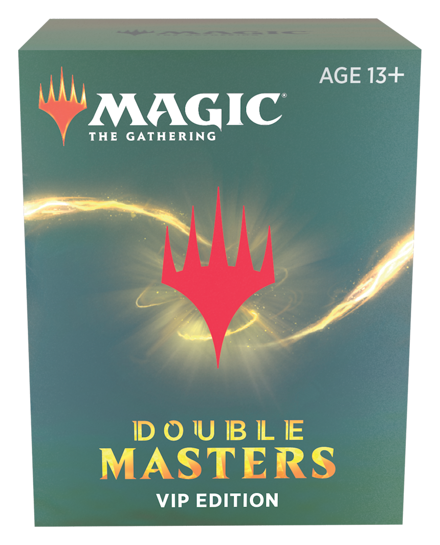MTG Magic The Gathering Double Masters VIP Edition Booster Box 1 PACK ONLY