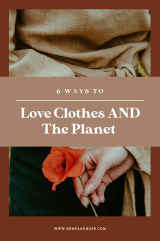 ethical fashion blog how to love clothes and the environment