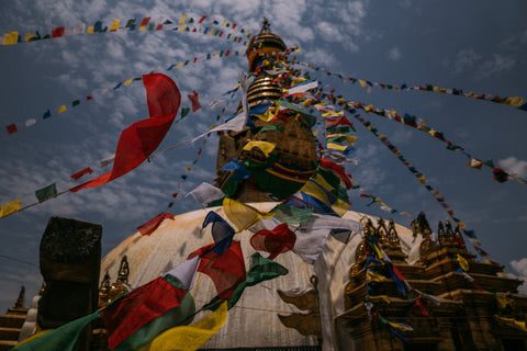 tibetan prayer flags nepal