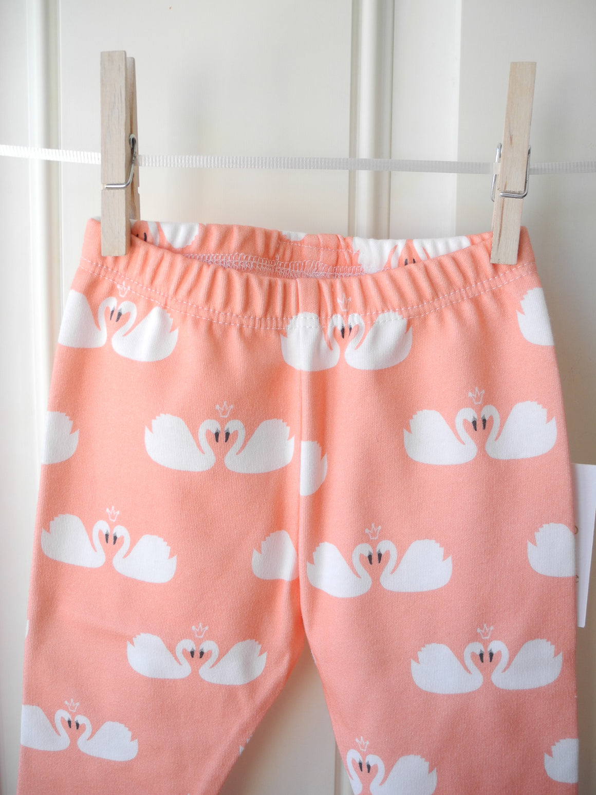 Organic swan pants handmade in USA