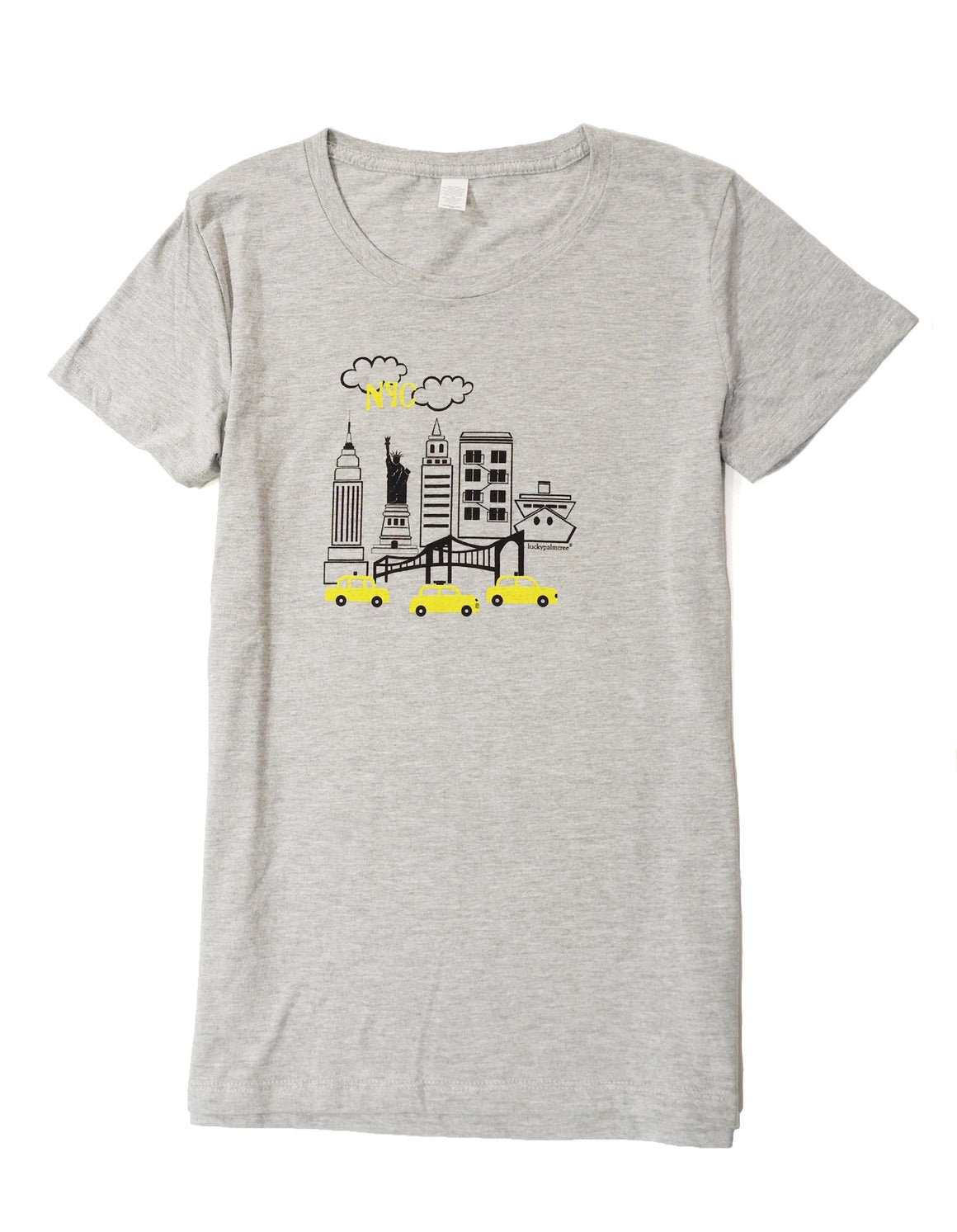 NYC cotton women's short sleeve tee