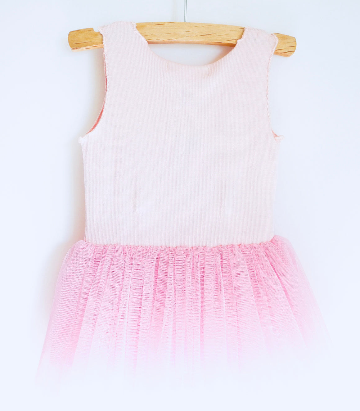 Ballerina onesie with tulle skirt