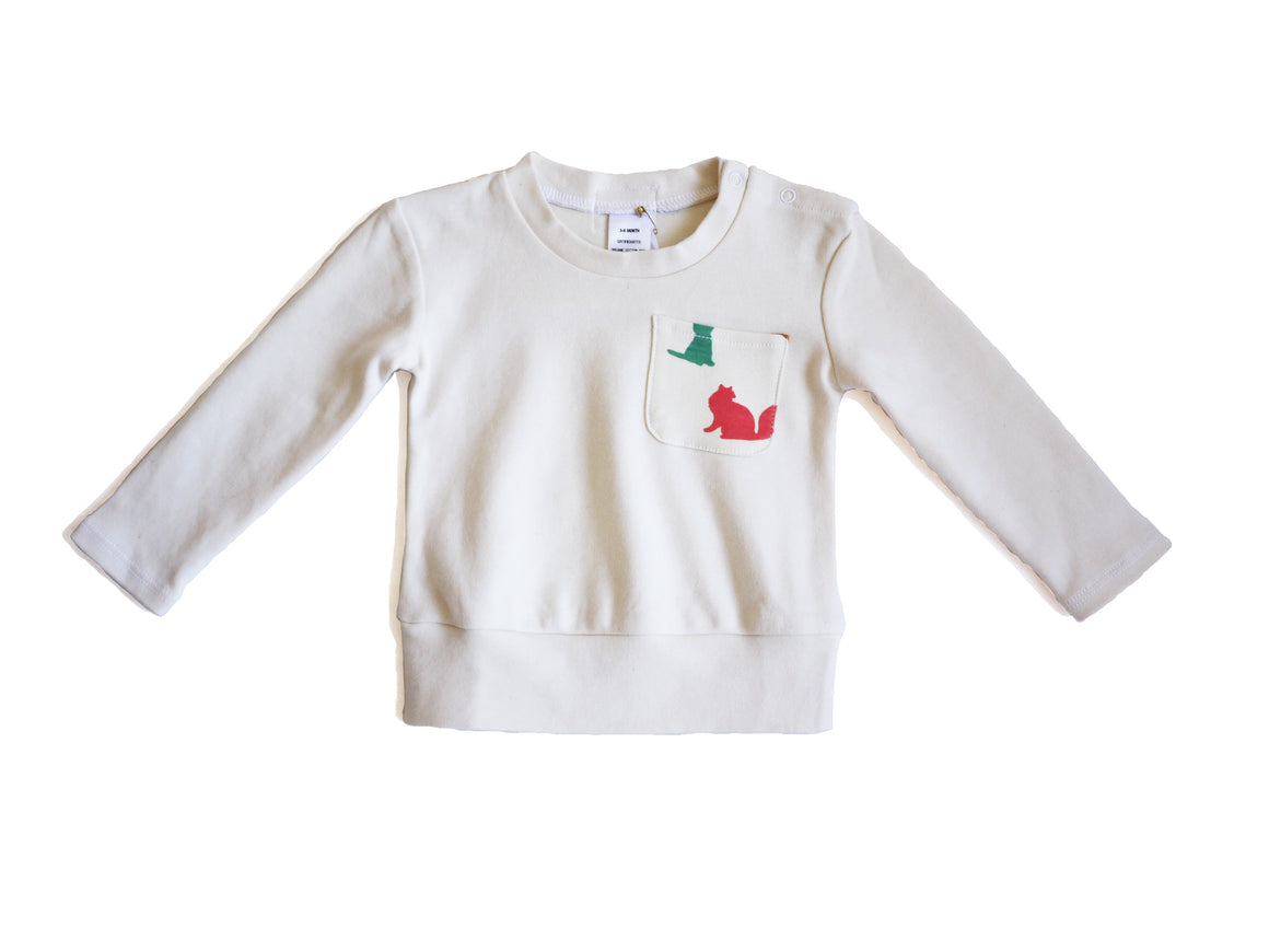 Organic multi dogs sweatshirt top and pant set