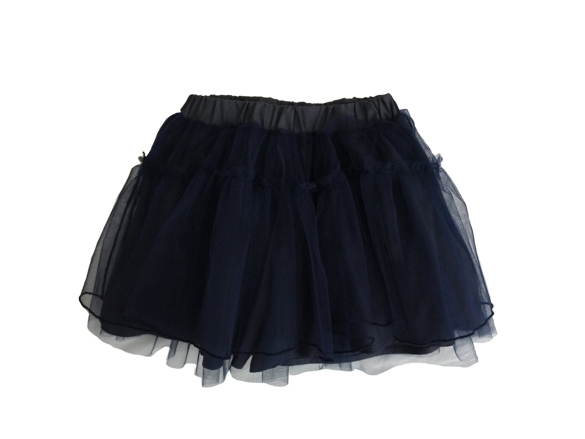 Navy tutu with cotton shorts lining
