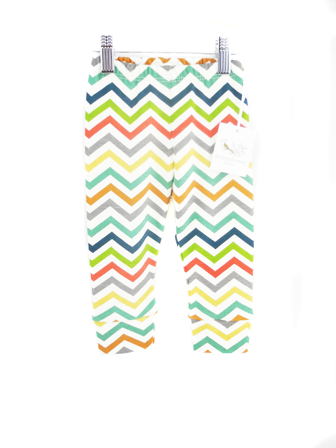 Organic multi chevron pants