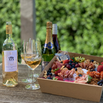 Spread Grazing Boxes With Wine at Barwon Heads Winestore