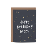 Happy Birthday To You - Gift Card