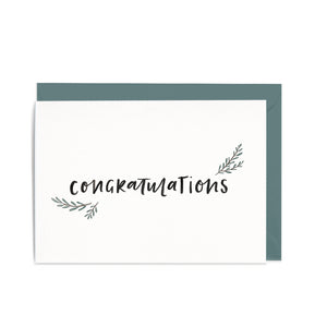 Congratulations - Gift Card