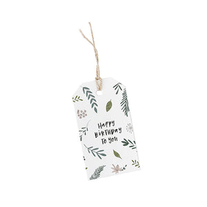 Happy Birthday - Gift Tag