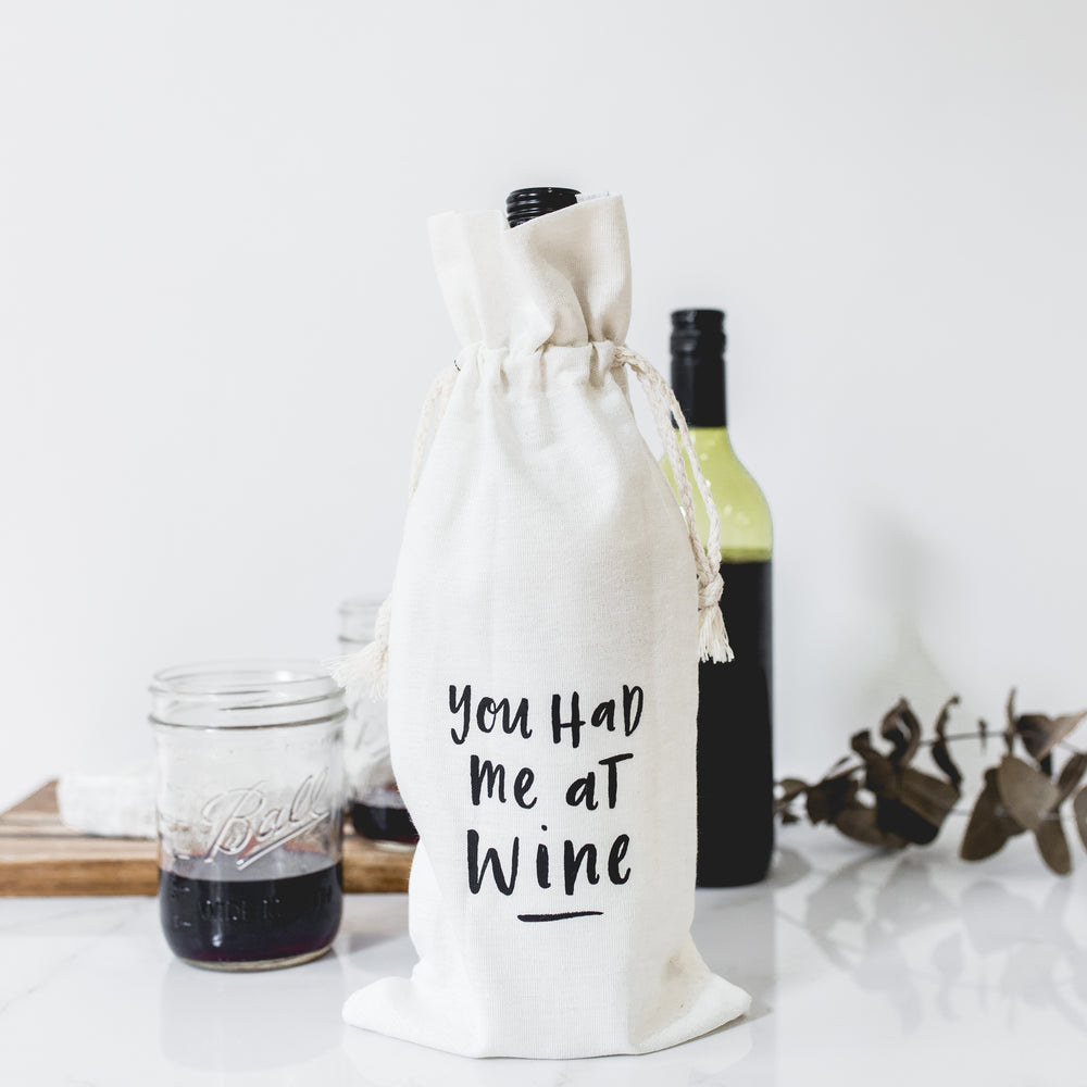 You Had Me At Wine Gift Bag