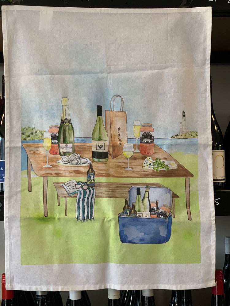 Winestore Tea Towel
