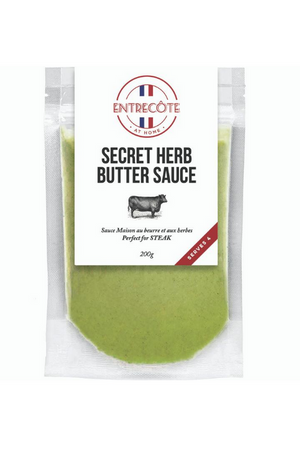 Entrecôte Secret Herb Butter Sauce