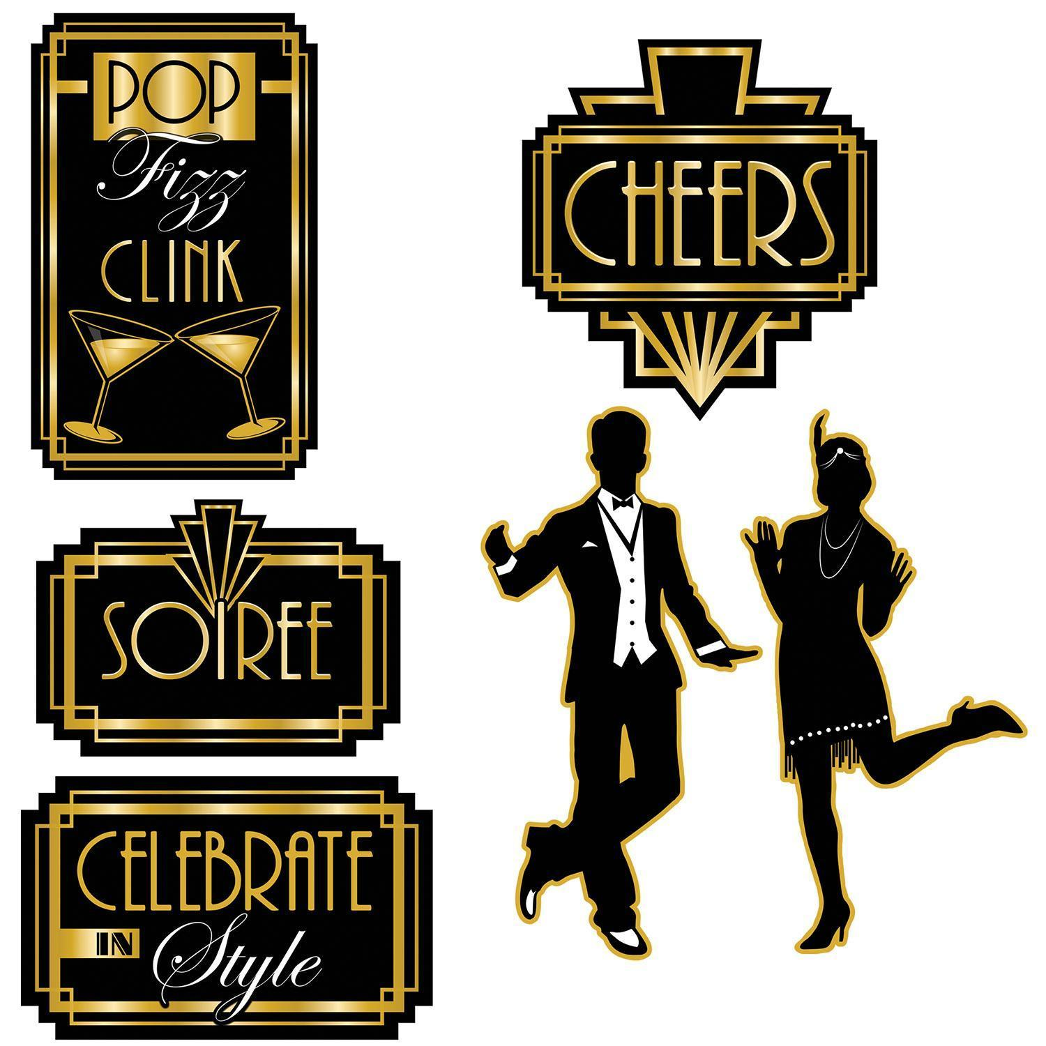20's Theme Party Supplies