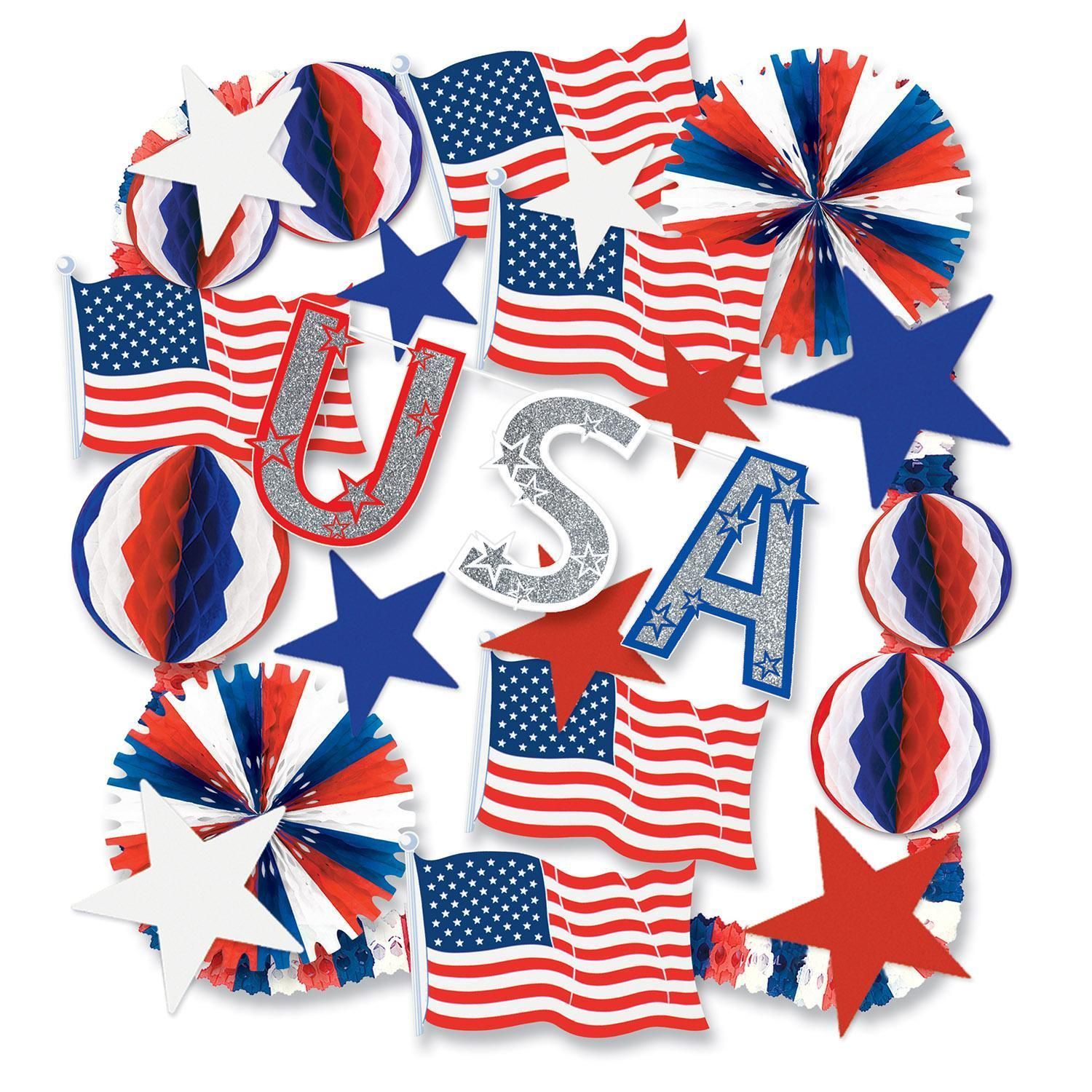4th of July and Patriotic Party Supplies
