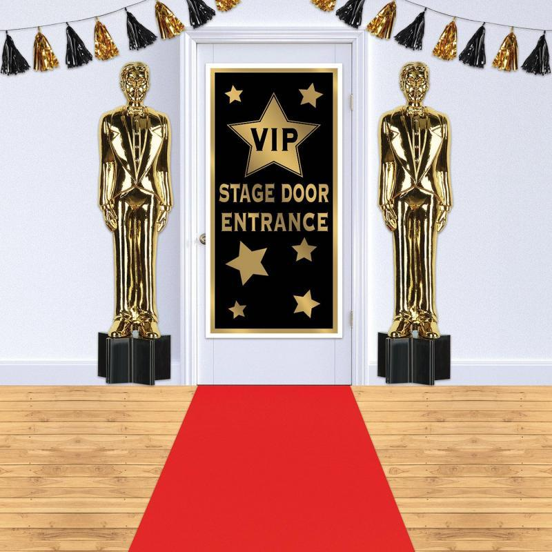 Red Carpet Runner by Beistle - Awards Night Theme Decorations