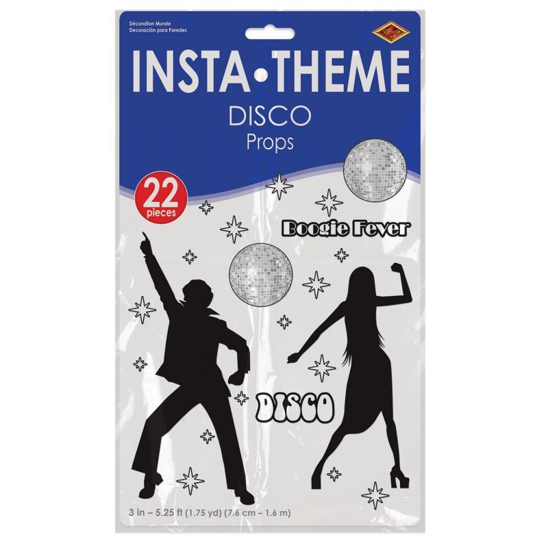 Disco Props (22/Pkg) by Beistle - 70's Theme Decorations