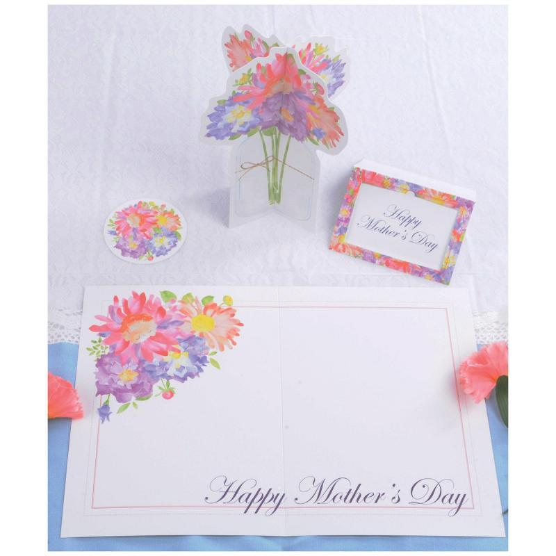 Mother's Day Place Setting Kit (4/Pkg) by Beistle - Mother's Day Theme Decorations