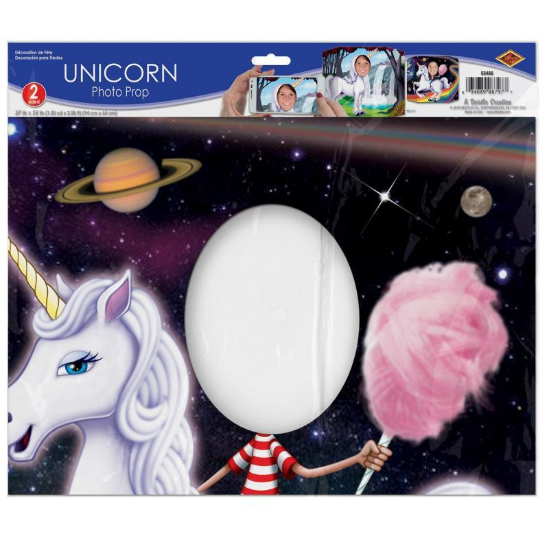 Unicorn Photo Prop by Beistle - Unicorn Theme Decorations