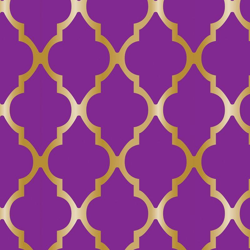 Lattice Tablecover by Beistle - Arabian Nights Theme Decorations