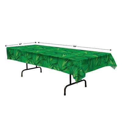 Palm Leaf Tablecover by Beistle -  Decorations