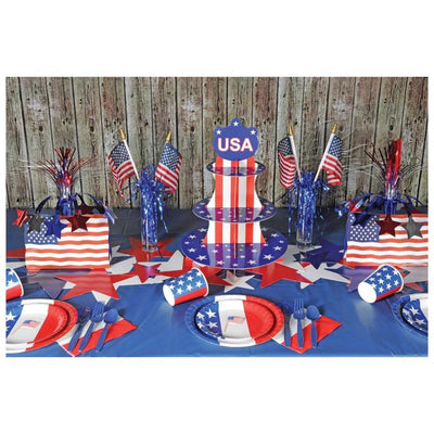 Patriotic Cupcake Stand by Beistle -  Decorations